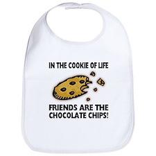 Chocolate Chip Friends Bib
