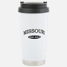Missouri Disc Golf Stainless Steel Travel Mug
