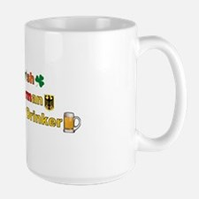 Irish German Beer Large Mug