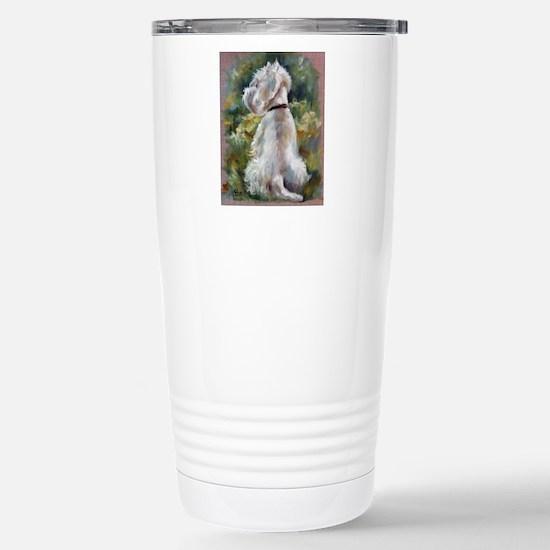 Living Color Stainless Steel Travel Mug