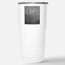 Crocodile Leather Travel Mug