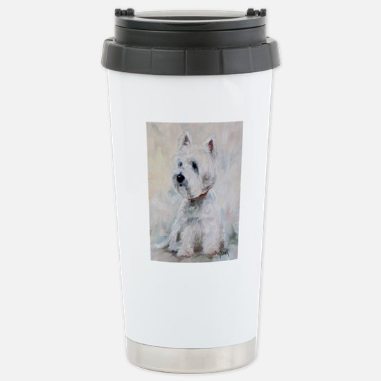 Watch Dog Stainless Steel Travel Mug