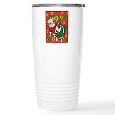 Bull Terrier Christmas Travel Mug