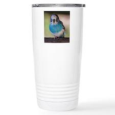 Blue Budgie Travel Mug