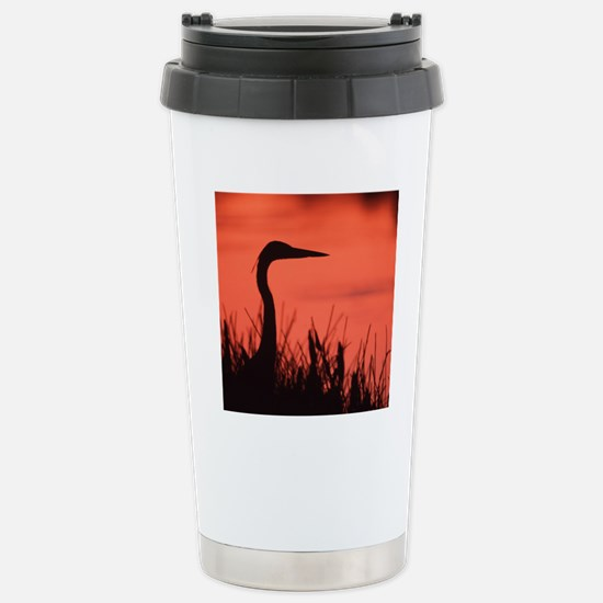 heron Stainless Steel Travel Mug