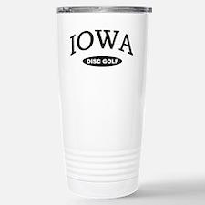 Iowa Disc Golf Stainless Steel Travel Mug