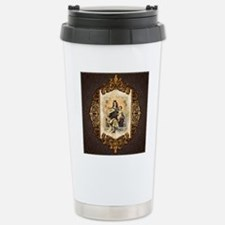 Our Lady of Mt Carmel Stainless Steel Travel Mug