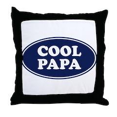 Cool Papa Throw Pillow