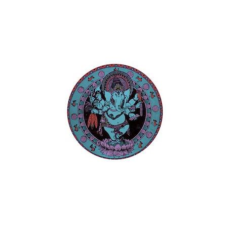 Ganesh Dancer Mini Button (100 pack)