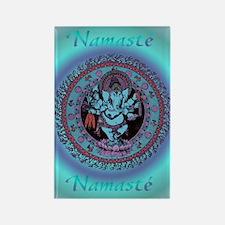 Ganesh Dancer Rectangle Magnet