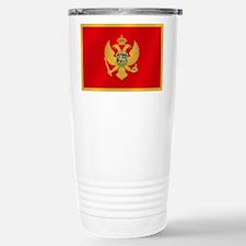 Flag of Montenegro Travel Mug