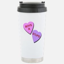 Boys R Stupid Travel Mug