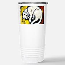Franz Marc - White Cat. Travel Mug