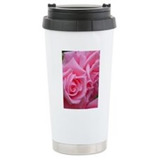 Pink Rose Travel Mug
