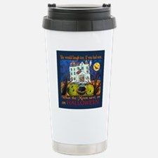 Halloween Moon Stainless Steel Travel Mug