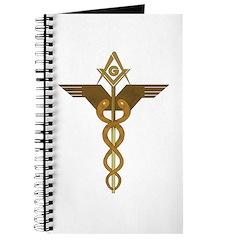 Masonic caduceus Journal