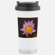 Lotus Flower Stainless Steel Travel Mug