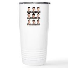 Man face expressions Travel Mug