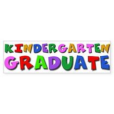 Kindergarten graduation idea Bumper Bumper Sticker