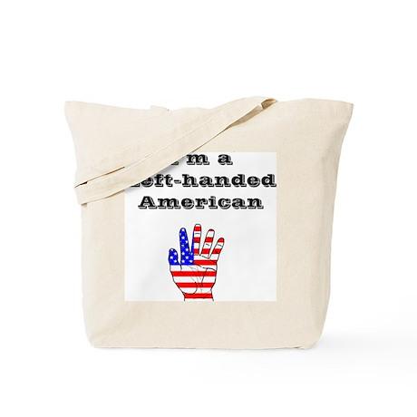 Left-handed American Tote Bag