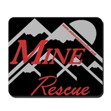 Mine Rescue Red Mountains Mousepad