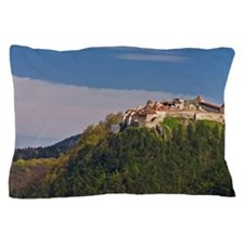 Traveling in the Prahova Valley in rou Pillow Case