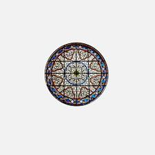 Gothic Window Mini Button