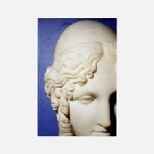 Helen of Troy. Neoclassical Paint Rectangle Magnet