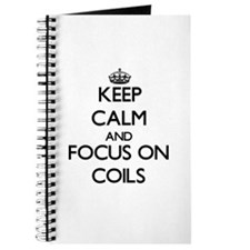 Funny Coiled Journal