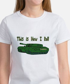 How I Roll (Military/Army Tank) Tee