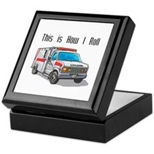 How I Roll (Ambulance) Keepsake Box