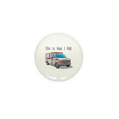 How I Roll (Ambulance) Mini Button (100 pack)