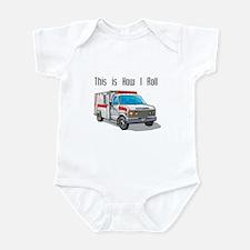 How I Roll (Ambulance) Infant Bodysuit