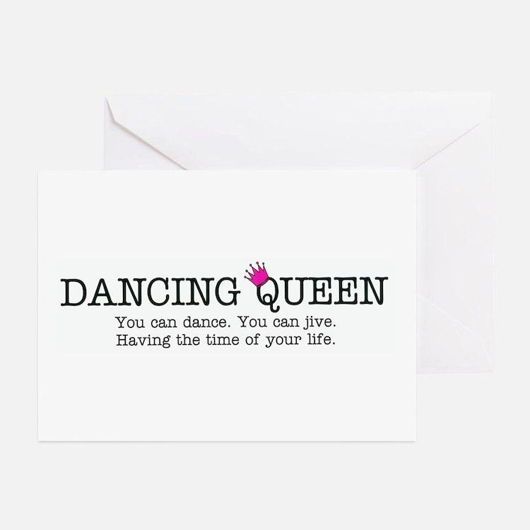 Dancing Queen Greeting Cards (Pk of 10)