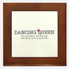 Dancing Queen Framed Tile