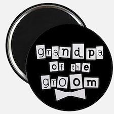 Grandpa of the Groom Magnet
