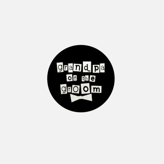 Grandpa of the Groom Mini Button