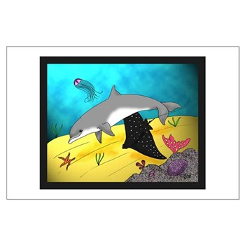 Undersea World Large Poster