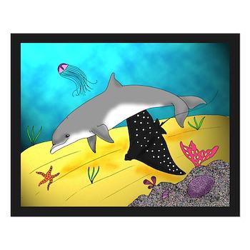 Undersea World Small Poster