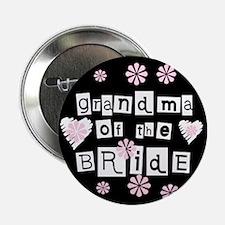 Grandma of the Bride Button