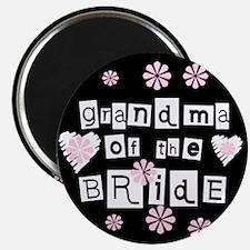 Grandma of the Bride Magnet