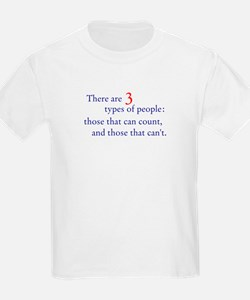 3 Types of People T-Shirt