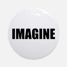 Be Bold IMAGINE Ornament (Round)