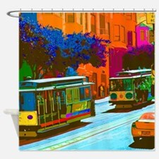 Cute Street Shower Curtain