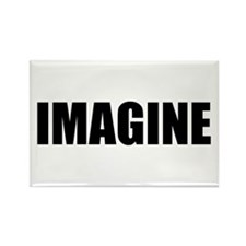 Be Bold IMAGINE Rectangle Magnet