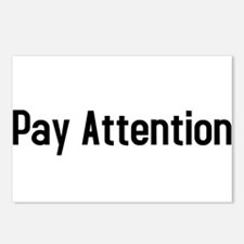 Pay Attention Postcards (Package of 8)