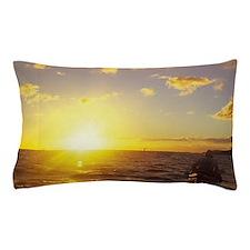 Kayaking, Poipu, Kauai, Hawaii Pillow Case