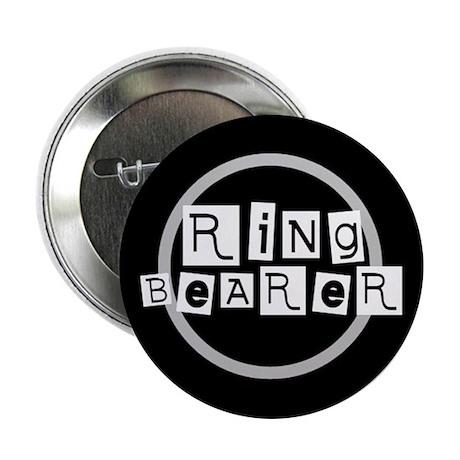 Ring Bearer (black) Button