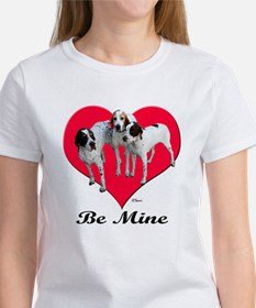 An English Pointer Valentine Tee