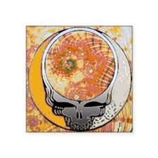 "Psychedelic Steal Your Face Square Sticker 3"" x 3"""